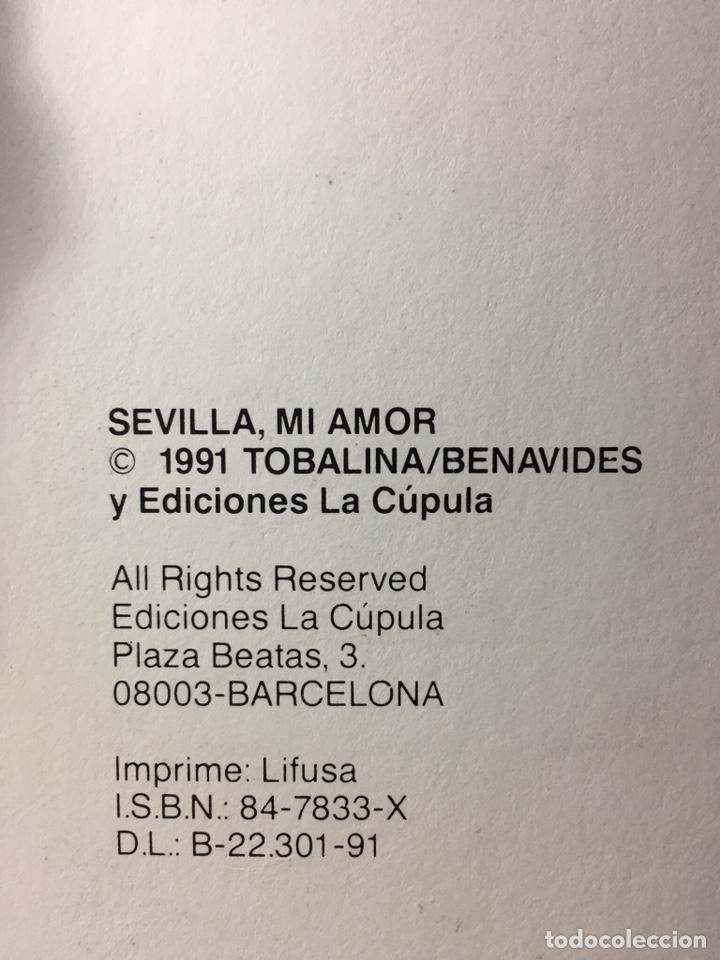 Cómics: Cómic Sevilla, Mi amor.(Tobalina/Benavides N41) - Foto 2 - 182976885