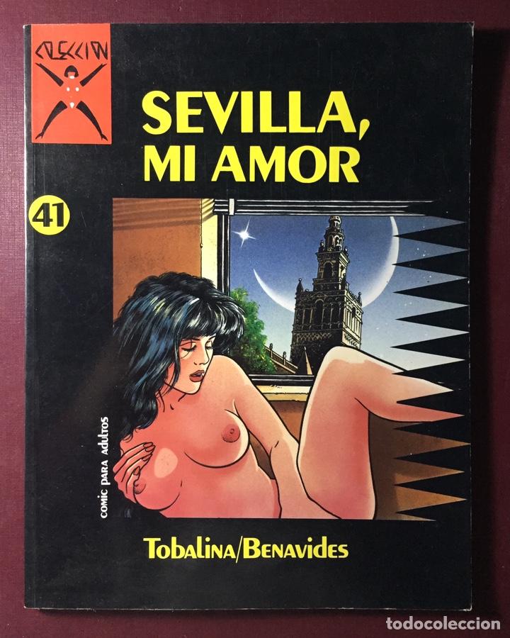 CÓMIC SEVILLA, MI AMOR.(TOBALINA/BENAVIDES N41) (Tebeos y Comics - La Cúpula - Autores Españoles)