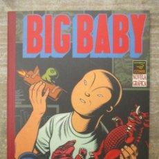 Cómics: BIG BABY - CHARLES BURNS - LA CUPULA COMIX - NOVELA GRAFICA. Lote 182993098