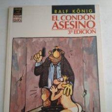 Comics : COMIC EL CONDON ASESINO/RALF KÖNIG. Lote 183289407