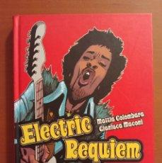 Cómics: ELECTRIC REQUIEM BIOGRAFÍA EN COMIC DE JIMI HENDRIX ED LA CÚPULA EN PERFECTO ESTADO. . Lote 183339591