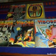 Cómics: EL VÍBORA COMIXX COMIX PARA SUPERVIVIENTES NºS 4 5 6 7 10. LA CÚPULA 1980. 100 PTS. . Lote 183454783