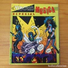 Cómics: EL VIBORA ESPECIAL MUSICA. MAX, GALLARDO, MEDIAVILLA, CRUMB, CEESEPE, VUILLEMIN... BERENGUER 1982. Lote 184793728