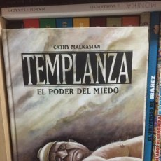 Cómics: TEMPLANZA: EL PODER DEL MIEDO, DE CATHY MALKASIAN. Lote 185716478