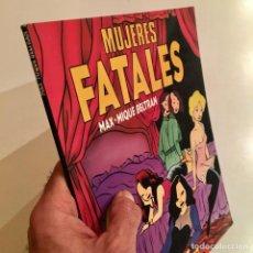 Cómics: COMICBOOK MUJERES FATALES DE MAX Y MIQUE BELTRAN, EDITORIAL LA CÚPULA, AÑO 1989. Lote 185762046