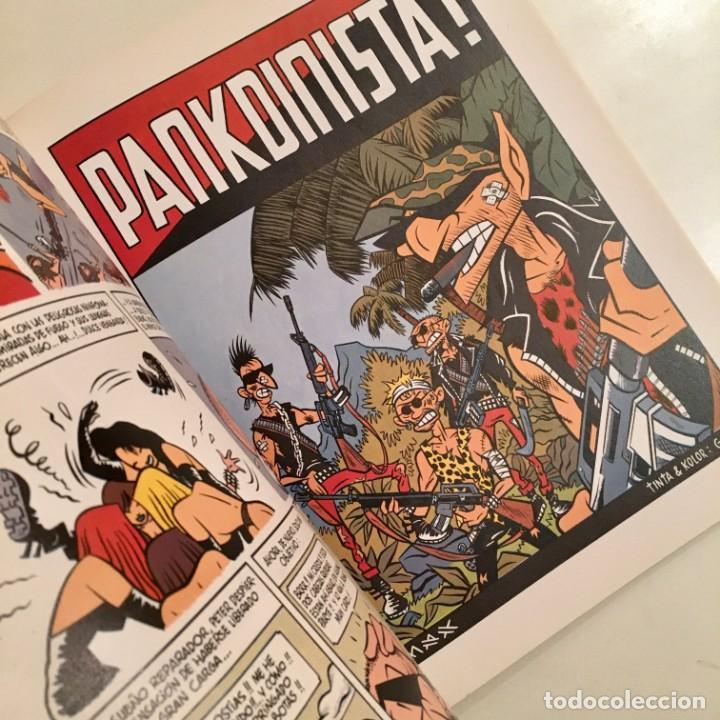 Cómics: Comicbook PETER PANK, PANKDINISTA de Max y Gabi, editorial La Cúpula, año 1990 - Foto 3 - 185763260