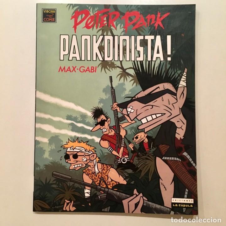 Cómics: Comicbook PETER PANK, PANKDINISTA de Max y Gabi, editorial La Cúpula, año 1990 - Foto 8 - 185763260