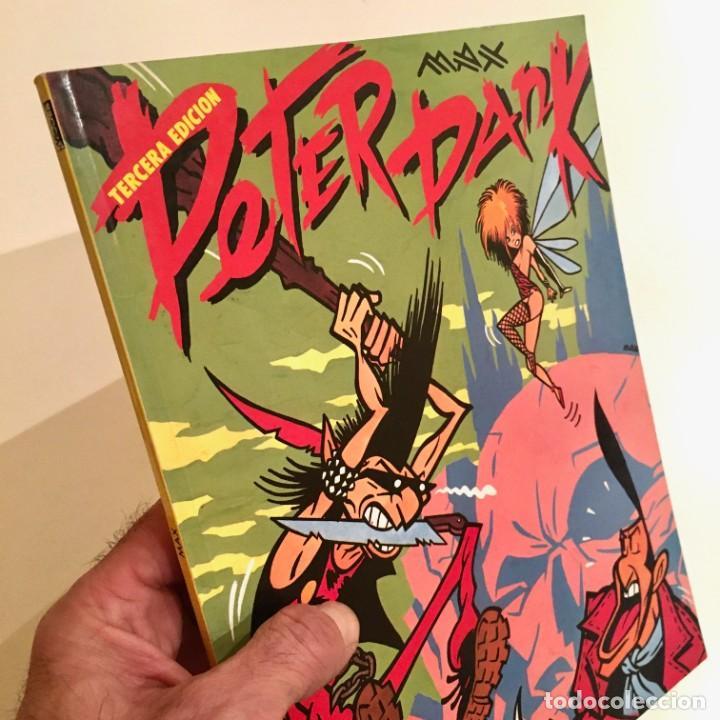 COMICBOOK PETER PANK DE MAX, EDITORIAL LA CÚPULA,TERCERA EDICIÓN AÑO 1990 (Tebeos y Comics - La Cúpula - Autores Españoles)