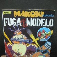 Cómics: FUGA EN LA MODELO. MAKOKI. GALLARDO Y MEDIAVILLA. EL VIBORA, LA CUPULA 1982. Lote 186148071