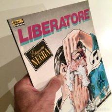 Cómics: COMICBOOK LIBERATORE, ETIQUETA NEGRA EDITORIAL LA CÚPULA 1985. Lote 186161610