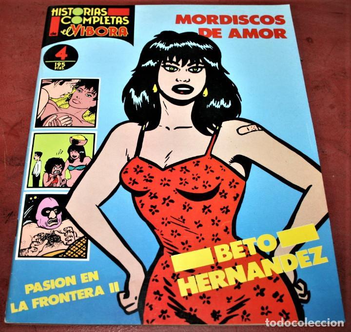 MORDISCOS DE AMOR - BETO HERNÁNDEZ - HISTORIAS COMPLETAS DE EL VÍBORA Nº 4 - ED. LA CÚPULA - 1987 (Tebeos y Comics - La Cúpula - El Víbora)