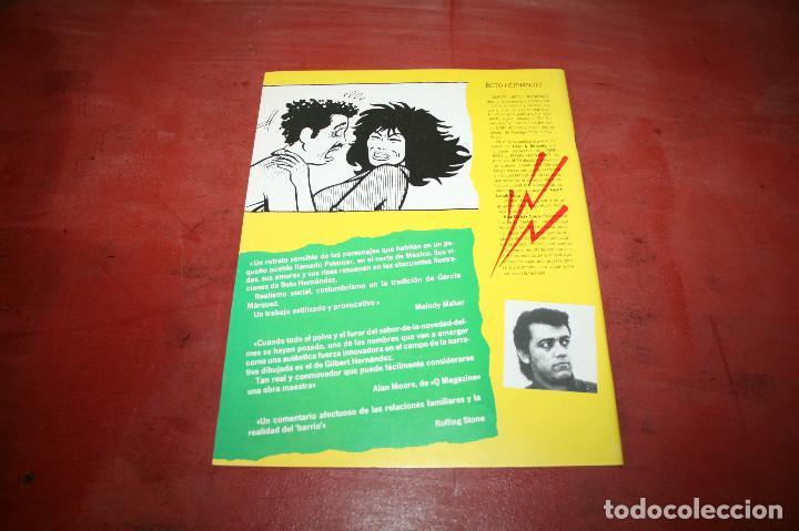 Cómics: MORDISCOS DE AMOR - BETO HERNÁNDEZ - HISTORIAS COMPLETAS DE EL VÍBORA Nº 4 - ED. LA CÚPULA - 1987 - Foto 2 - 186191577