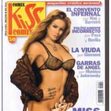 Fumetti: KISS COMIX, Nº 50. MAGAZINE ERÓTICO MENSUAL. CONTIENE 87. PÁGINAS.. Lote 186250520