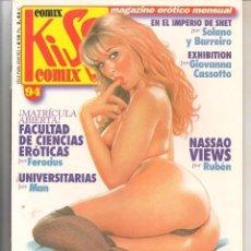 Fumetti: KISS COMIX, Nº 94. MAGAZINE ERÓTICO MENSUAL. CONTIENE 67. PÁGINAS.. Lote 186251226
