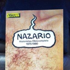 Cómics: NAZARIO - HISTORIETAS. OBRA COMPLETA 1975-1980 - CÓMIC. Lote 186393001