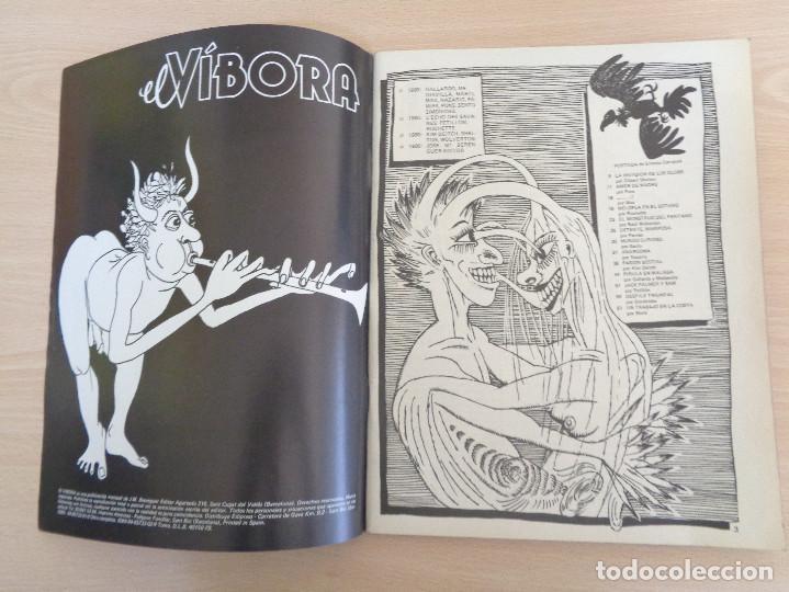 Cómics: El Víbora número 7. Nuevo de kiosko. - Foto 3 - 186448136