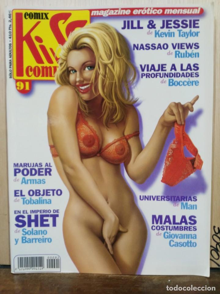 KISS COMIX - Nº 91 - ED. LA CÚPULA (Tebeos y Comics - La Cúpula - Autores Españoles)