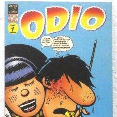 Cómics: ODIO - NOVELA GRAFICA - VIBORA - COMIX Nº 1. Lote 189935228