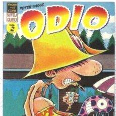 Cómics: ODIO - NOVELA GRAFICA - VIBORA - COMIX Nº 2. Lote 189935277