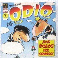 Cómics: ODIO - NOVELA GRAFICA - VIBORA - COMIX Nº3. Lote 189935321