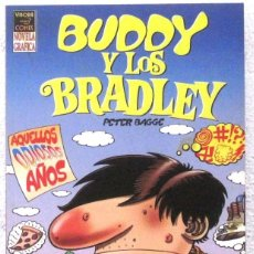 Cómics: BUDDY Y LOS BRADLEY - NOVELA GRAFICA - VIBORA COMIX. Lote 189935472