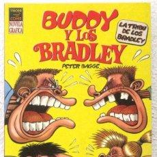 Cómics: BUDDY Y LOS BRADLEY - NOVELA GRAFICA - VIBORA COMIX. Lote 189935528