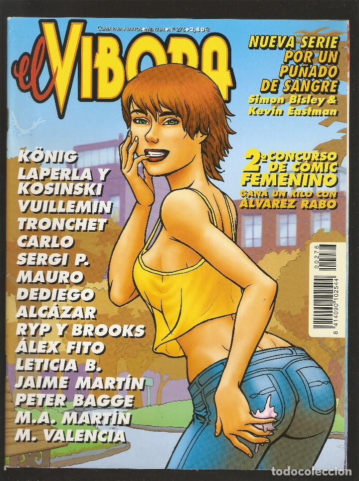 EL VIBORA - Nº 276 - XI-2002 - MUY BUEN ESTADO - LA CUPULA - (Tebeos y Comics - La Cúpula - El Víbora)
