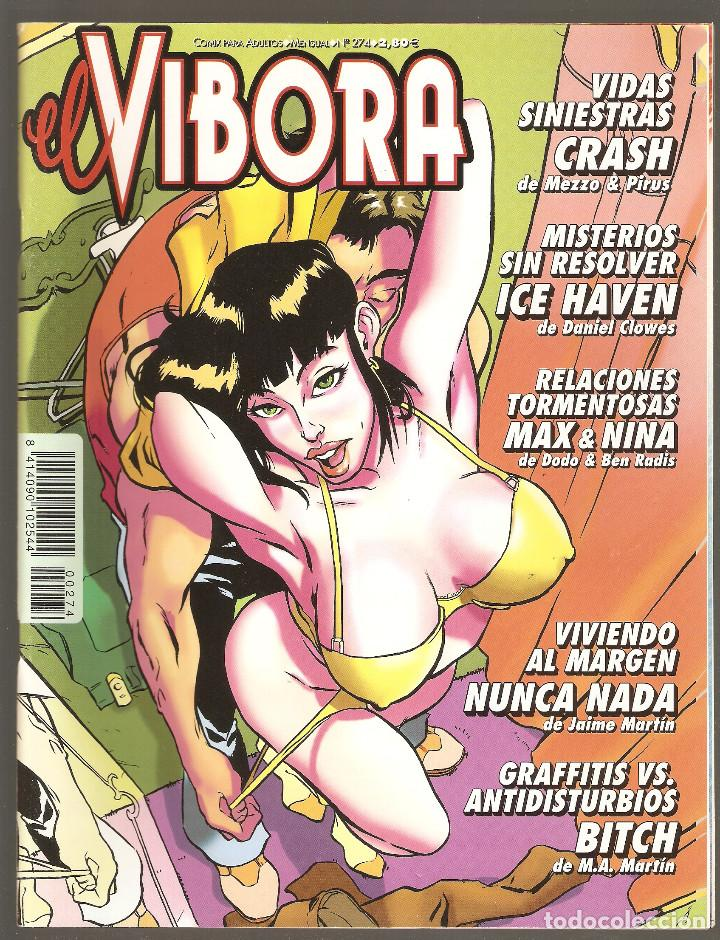 EL VIBORA - Nº 274 - IX-2002 - MUY BUEN ESTADO - LA CUPULA - (Tebeos y Comics - La Cúpula - El Víbora)
