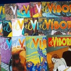 Cómics: REVISTA CÓMICS EL VÍBORA. (SELECCIÓN DE 15 NÚMEROS, ENTRE EL 16 Y EL 96). Lote 190596617
