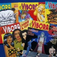 Cómics: REVISTA COMIX EL VÍBORA. NÚMEROS 145,146,147,148,149. Lote 190596990