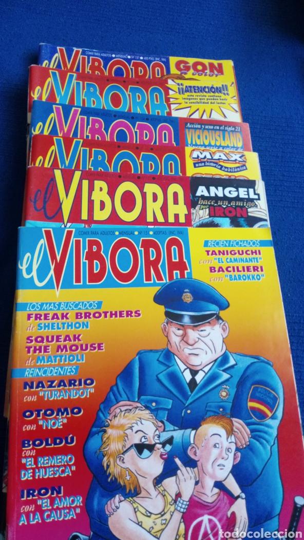 6 REVISTAS EL VÍBORA. NÚMEROS 151,152,153,154,156,157 (Tebeos y Comics - La Cúpula - El Víbora)