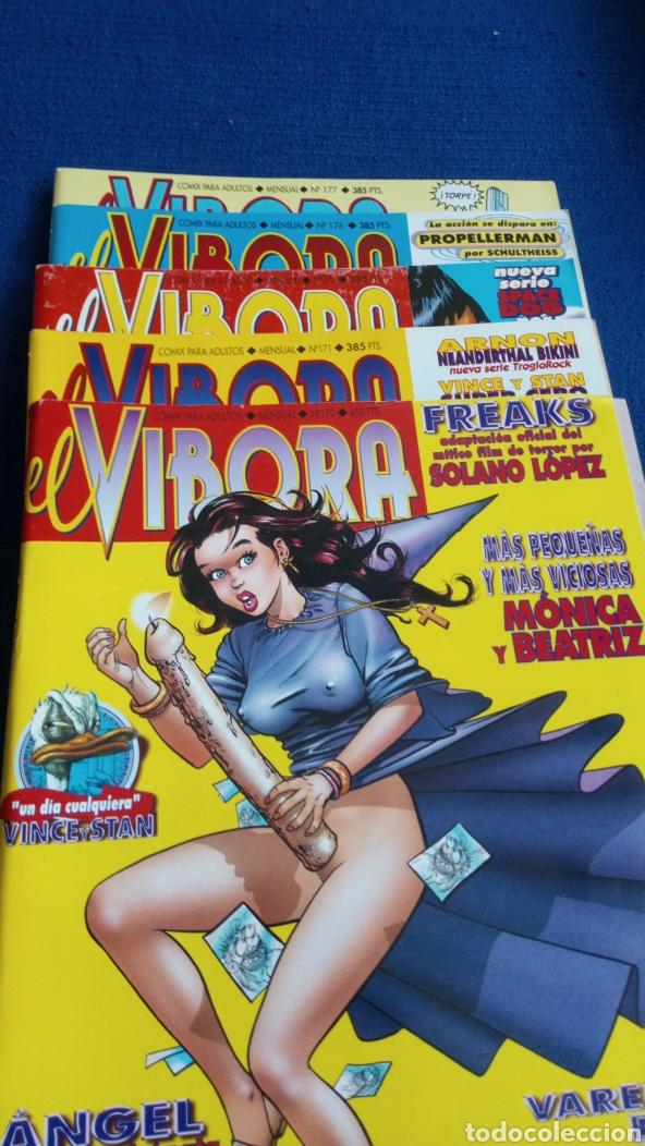REVISTA CÓMICS EL VÍBORA. NÚMEROS 170,171,172,176,177 (Tebeos y Comics - La Cúpula - El Víbora)