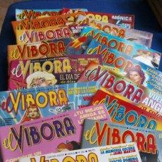 Cómics: LOTE 15 REVISTAS EL VÍBORA.. Lote 190597781