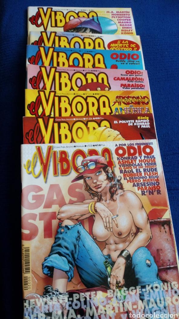 Cómics: 7 Revistas Comix El Víbora. Números 200,224,225,226,228,232,235 - Foto 2 - 190598940