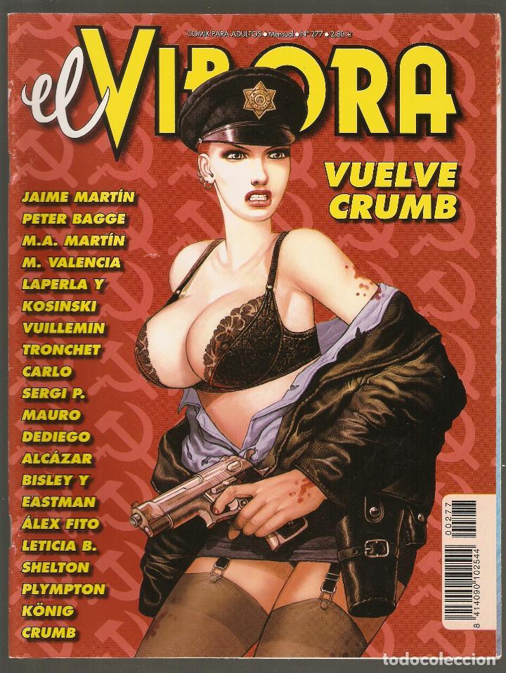 EL VIBORA - Nº 277 - XII-2002 - MUY BUEN ESTADO - LA CUPULA - (Tebeos y Comics - La Cúpula - El Víbora)