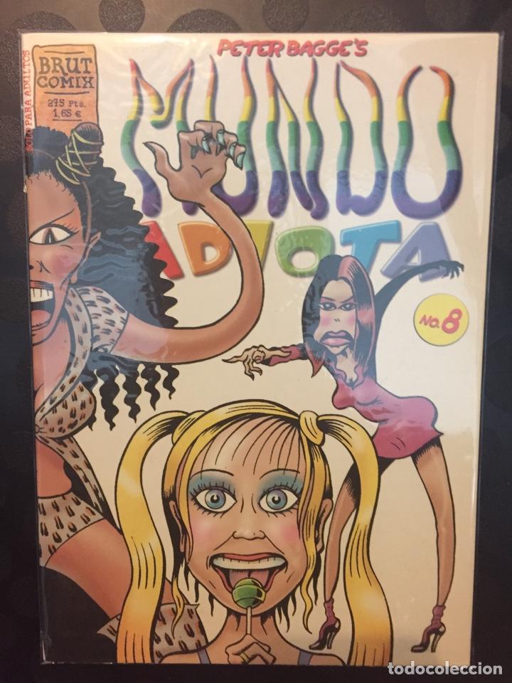 MUNDO IDIOTA DE PETER BAGGE . N.8 . BRUT COMIX . (Tebeos y Comics - La Cúpula - Comic USA)