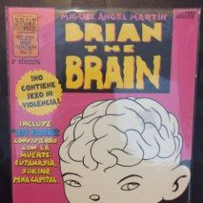 Cómics: BRIAN THE BRAIN N.1 . MIGUEL ANGEL MARTÍN . NO CONTIENE SEXO NI VIOLENCIA . BRUT COMIX .. Lote 191220670