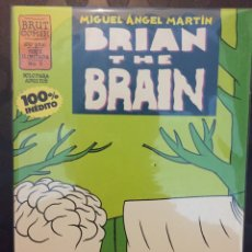 Cómics: BRIAN THE BRAIN N.5 . MIGUEL ANGEL MARTÍN . 100% INEDITO . BRUT COMIX .. Lote 191220848