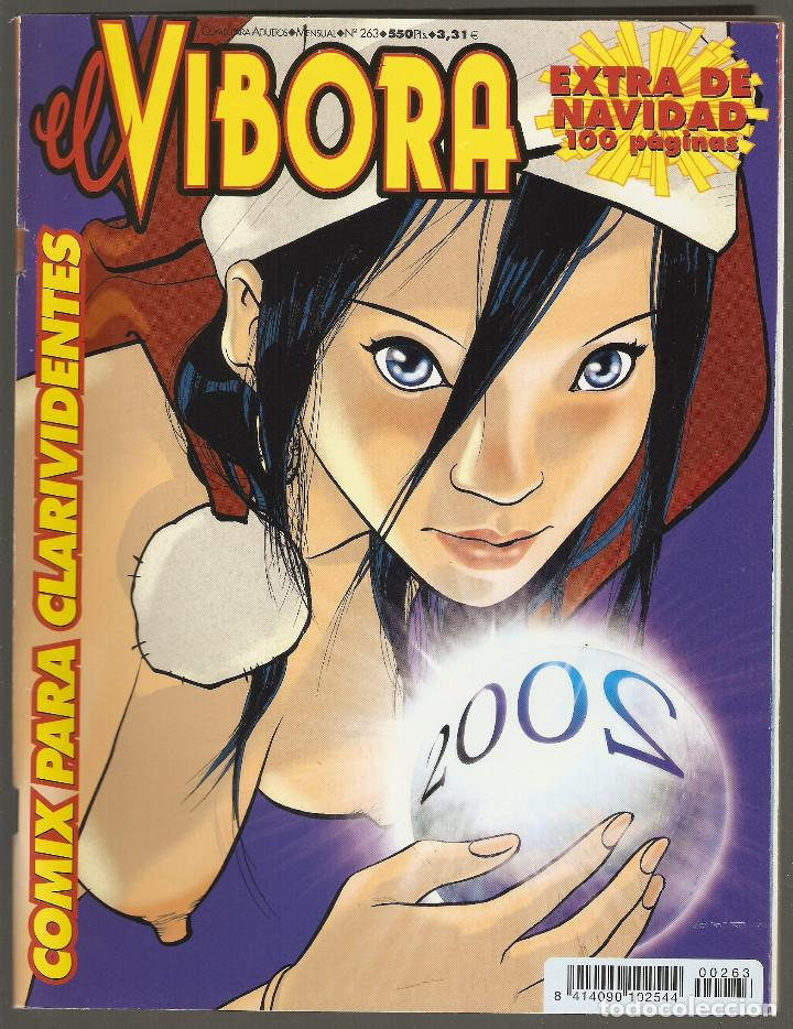 EL VIBORA - Nº 263 - X-2001 - EXTRA DE NAVIDAD - LA CUPULA - (Tebeos y Comics - La Cúpula - El Víbora)