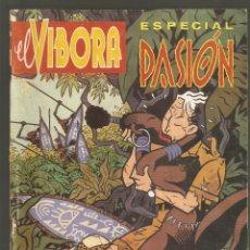 Cómics: EL VIBORA - ESPECIAL PASION - EXTRAORDINARIO Nº 10 - 1987 - LA CUPULA -. Lote 191636136