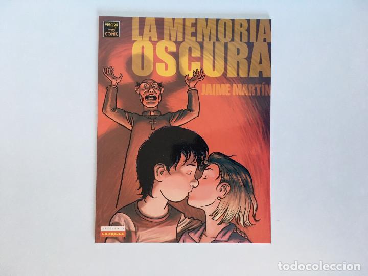 LA MEMORIA OSCURA DE JAIME MARTÍN. EDICIONES LA CÚPULA. (Tebeos y Comics - La Cúpula - Autores Españoles)