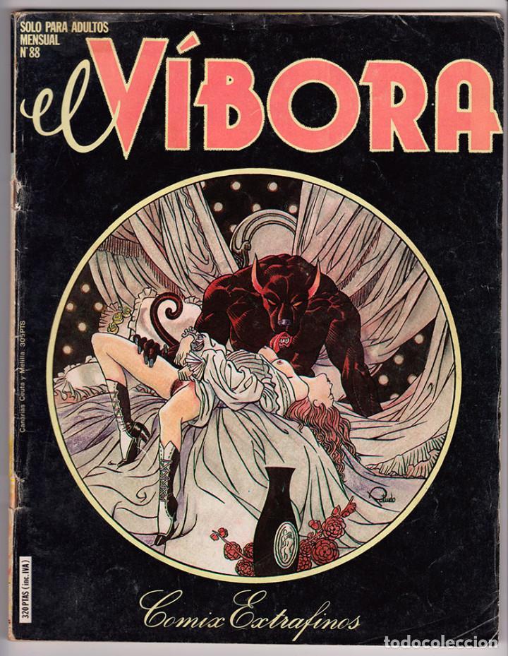 Cómics: Lote de 5 números de El Víbora. Nº 53, Nº 55, Nº 88, Nº 265 y Nº 266 - Foto 3 - 192594560