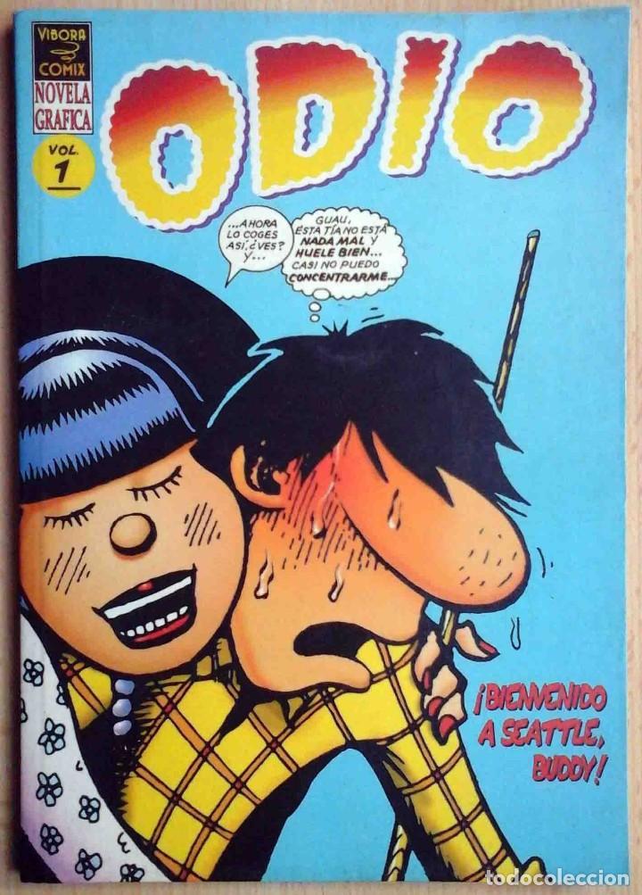 ODIO. VOLÚMEN 1 (PETER BAGGE) VIBORA COMIX. EDICIONES LA CÚPULA 1995 (Tebeos y Comics - La Cúpula - Comic USA)