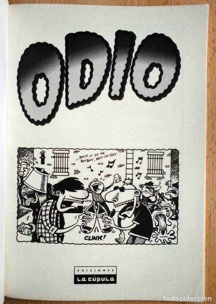 Cómics: Odio. Volúmen 1 (Peter bagge) Vibora Comix. Ediciones La Cúpula 1995 - Foto 2 - 192686655