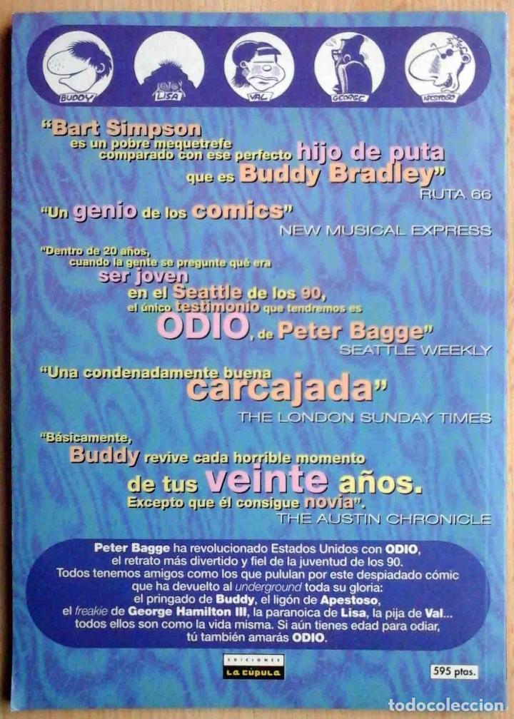 Cómics: Odio. Volúmen 1 (Peter bagge) Vibora Comix. Ediciones La Cúpula 1995 - Foto 5 - 192686655