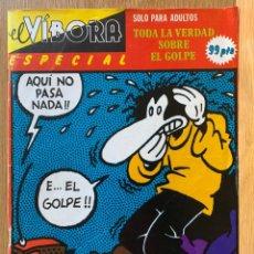 Comics: EL VIBORA ESPECIAL TODA LA VERDAD SOBRE EL GOLPE - LA CUPULA. Lote 193023055