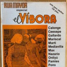 Comics: RUA MAYOR - ESPECIAL EL VÍBORA - COLECTIVO COMIC SALAMANCA,1983. Lote 193023860