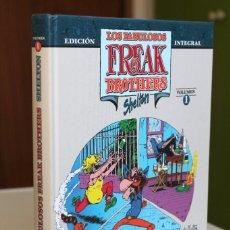 Cómics: SHELTON - LOS FABULOSOS FREAK BROTHERS. EDICIÓN INTEGRAL. VOLUMEN 1 - LA CÚPULA TAPA DURA. Lote 193579833