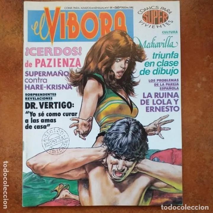 EL VIBORA NUM 108 (Tebeos y Comics - La Cúpula - El Víbora)