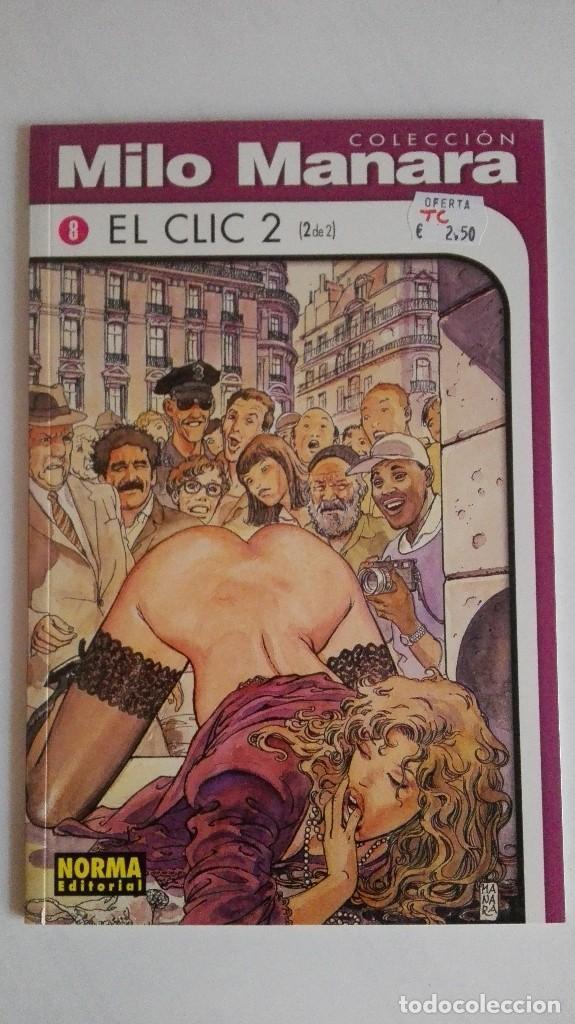 MILO MANARA. EL CLIC 2 SEGUNDA PARTE (Tebeos y Comics - La Cúpula - Comic Europeo)